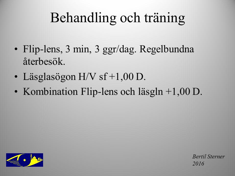 Behandling och träning