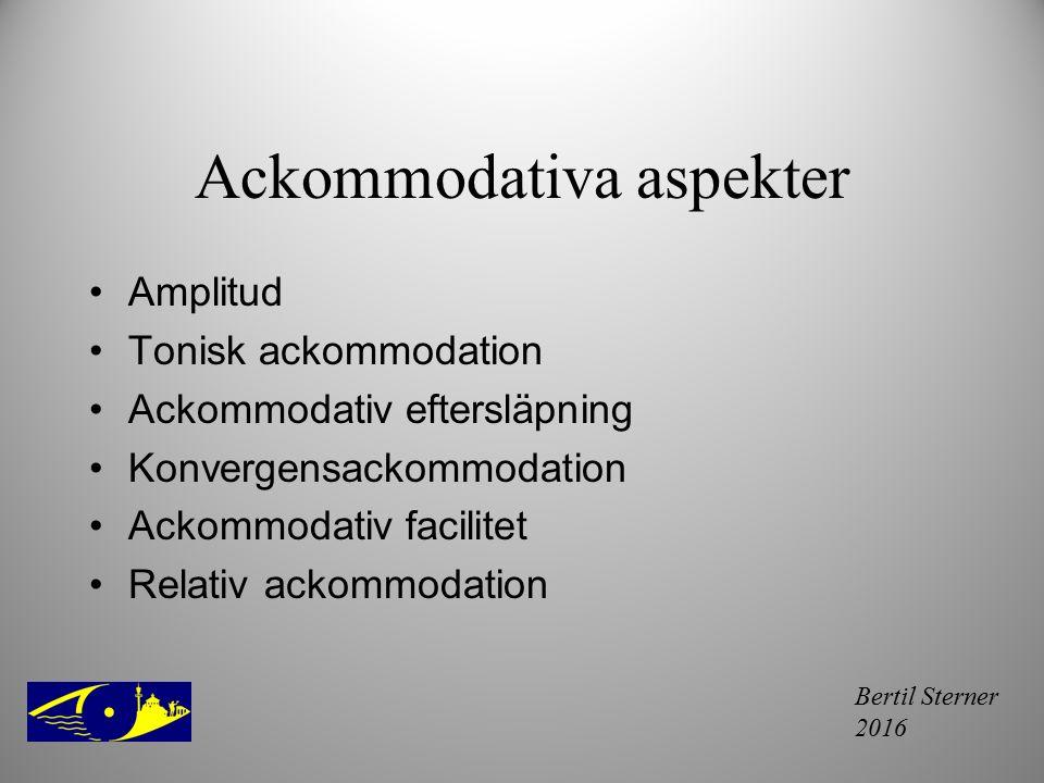 Ackommodativa aspekter