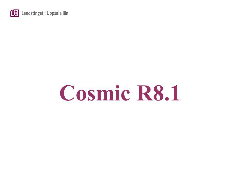 Cosmic R8.1