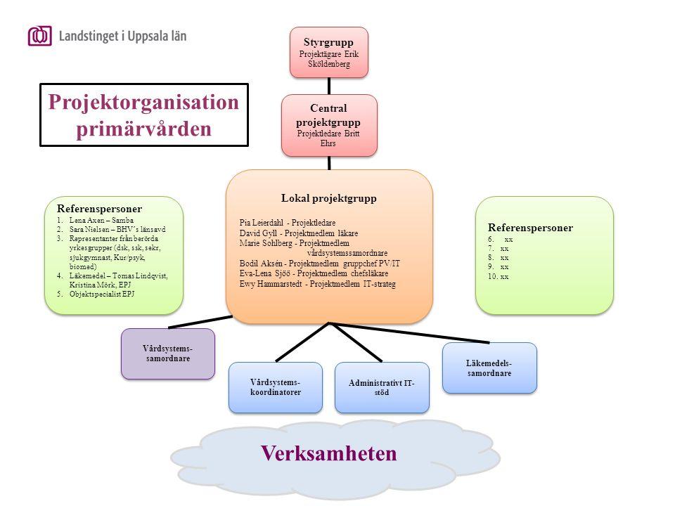 Projektorganisation primärvården