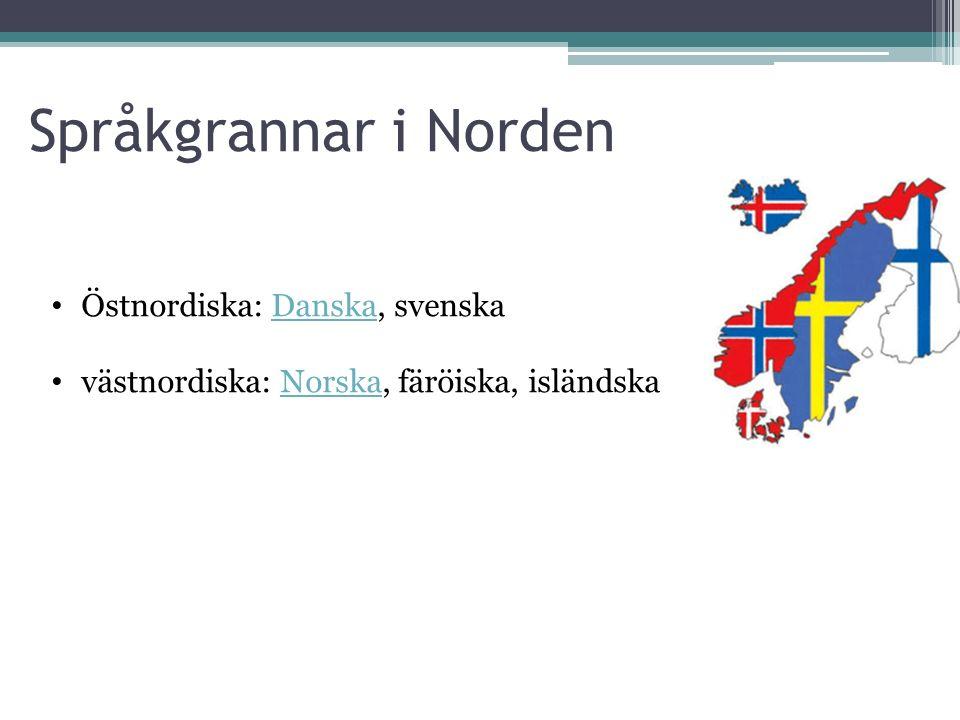 Språkgrannar i NordenNorden