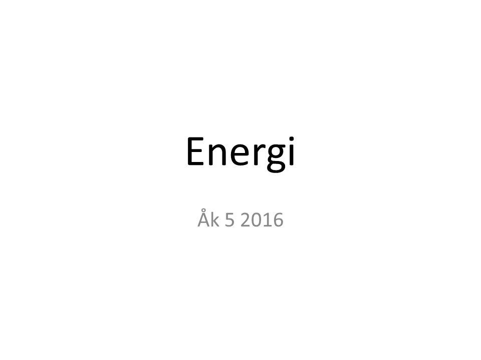 Energi Åk 5 2016