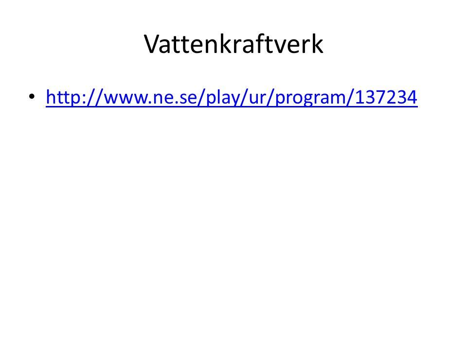 Vattenkraftverk http://www.ne.se/play/ur/program/137234