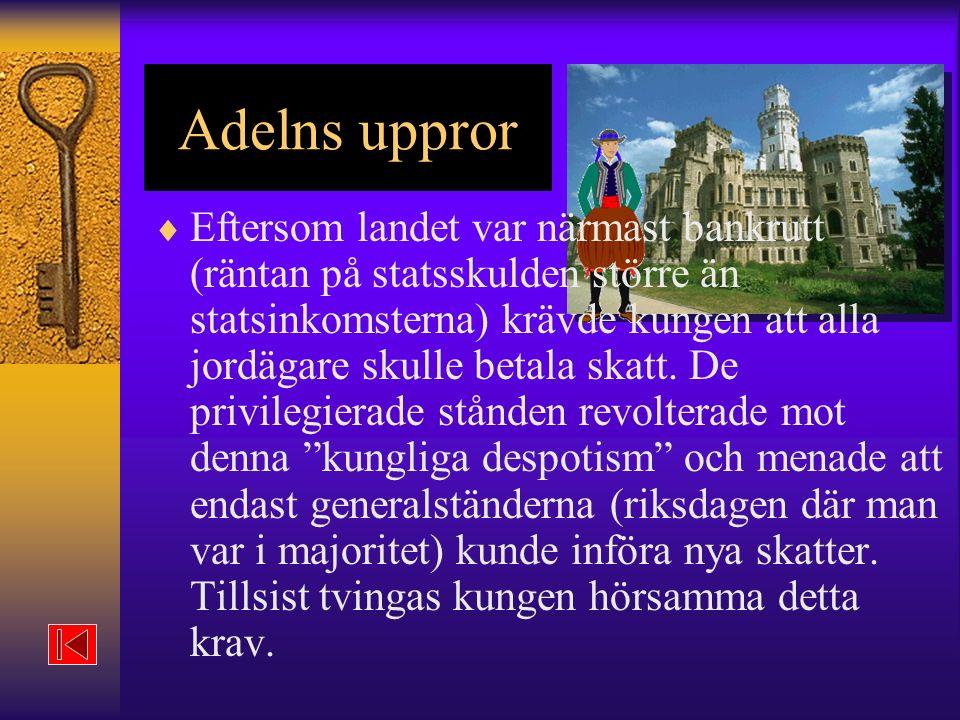 Adelns uppror