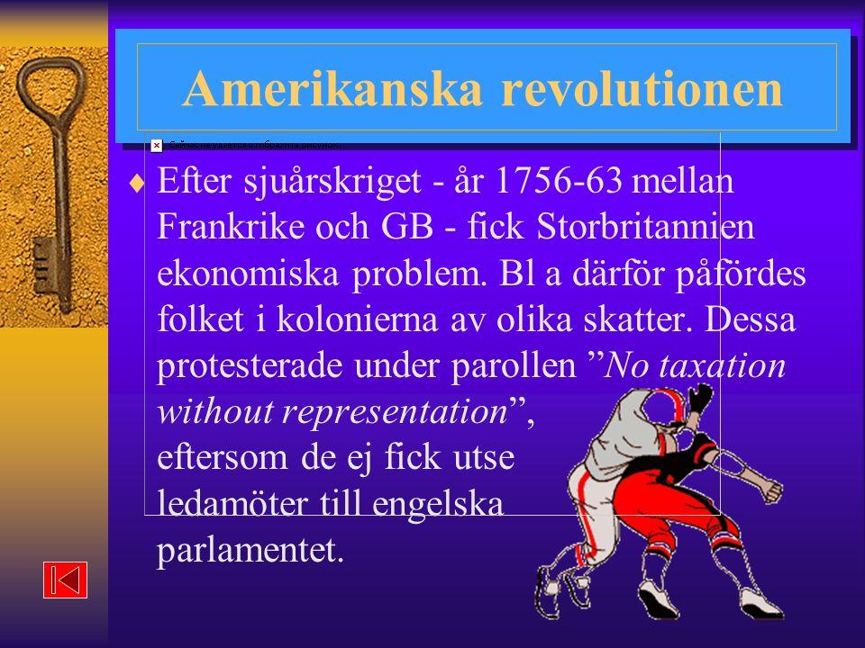 Amerikanska revolutionen
