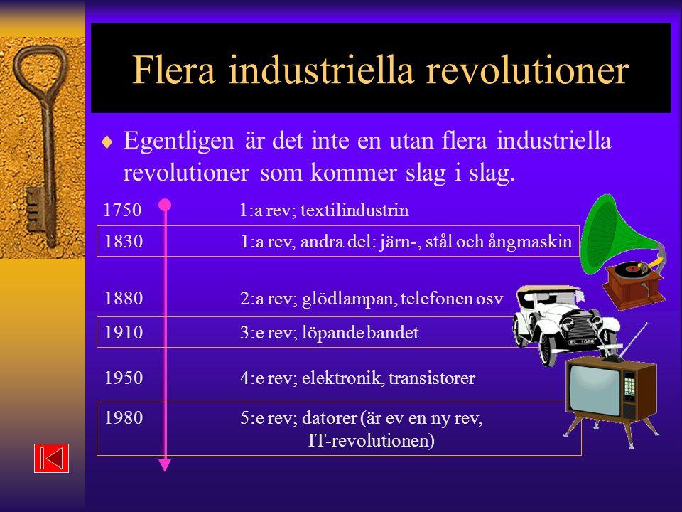 Flera industriella revolutioner