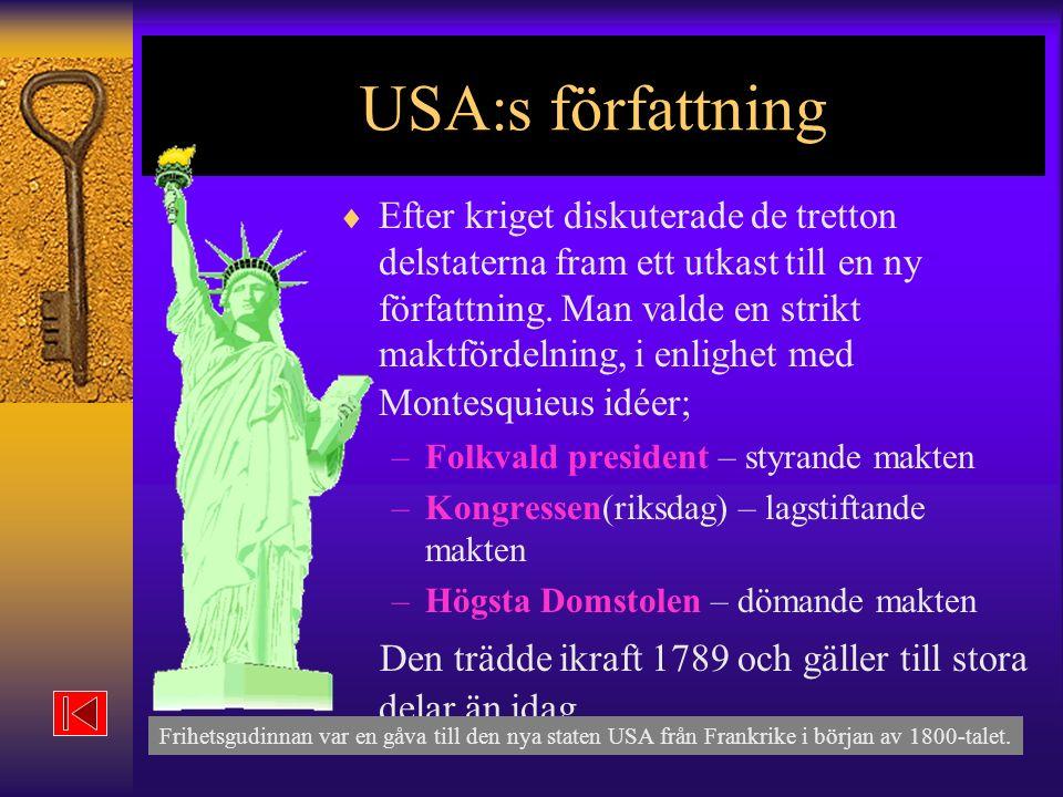 USA:s författning
