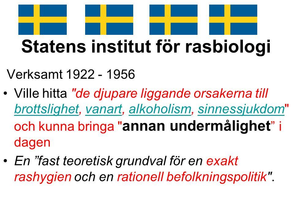 Statens institut för rasbiologi