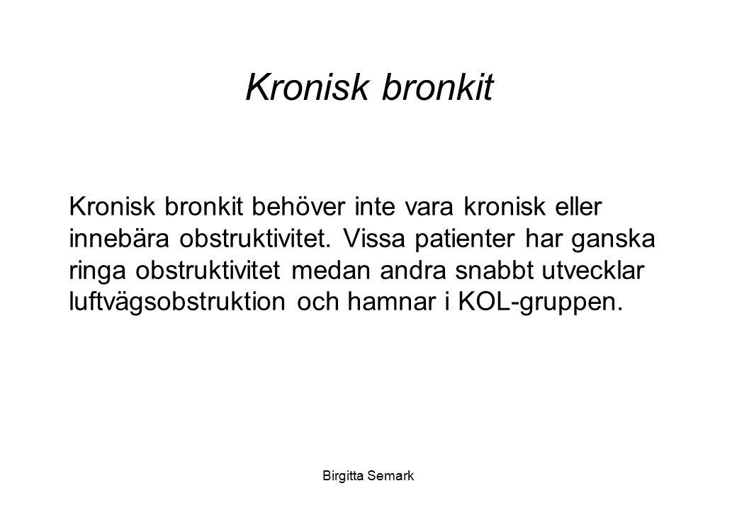 Kronisk bronkit