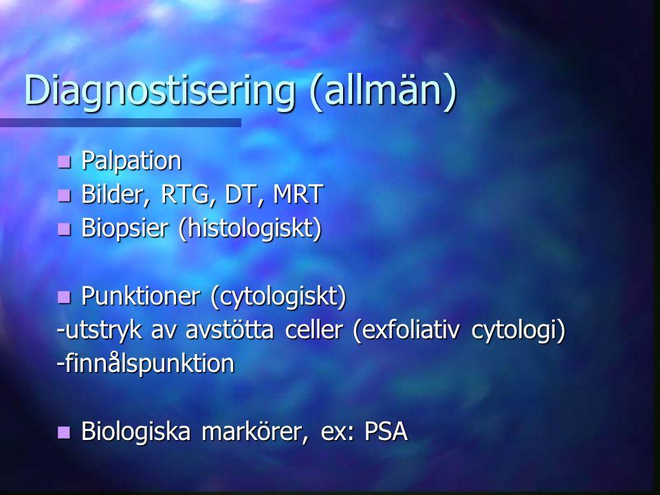 Diagnostisering (allmän)