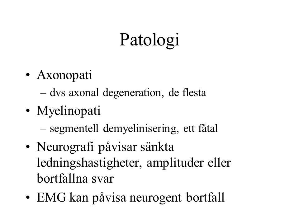 Patologi Axonopati Myelinopati
