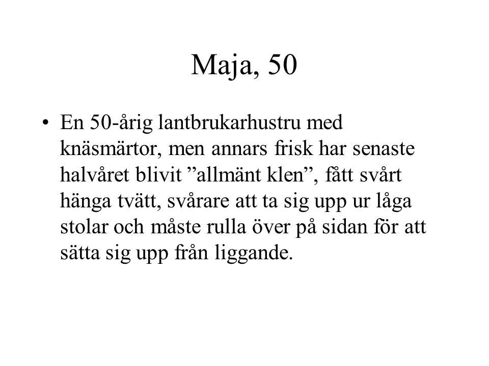 Maja, 50