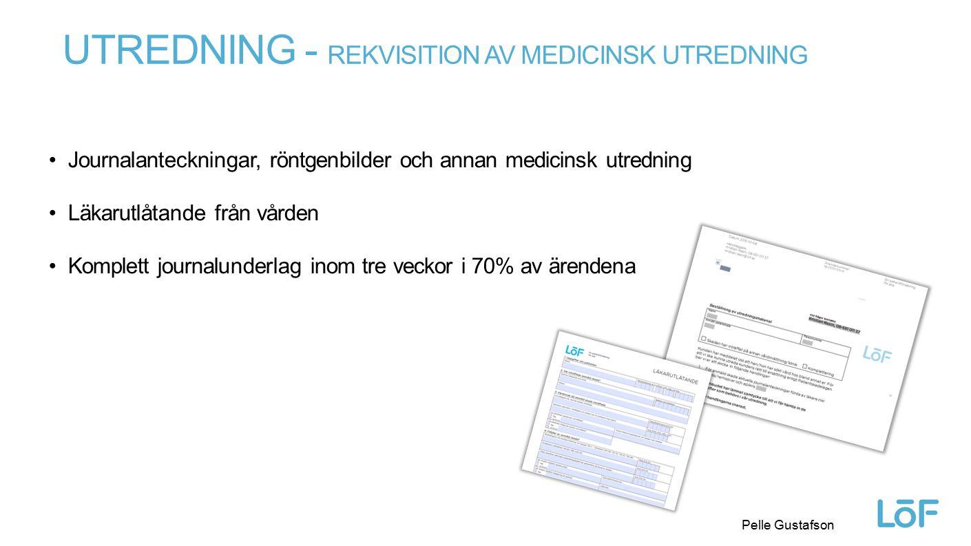 Utredning - Rekvisition av medicinsk utredning