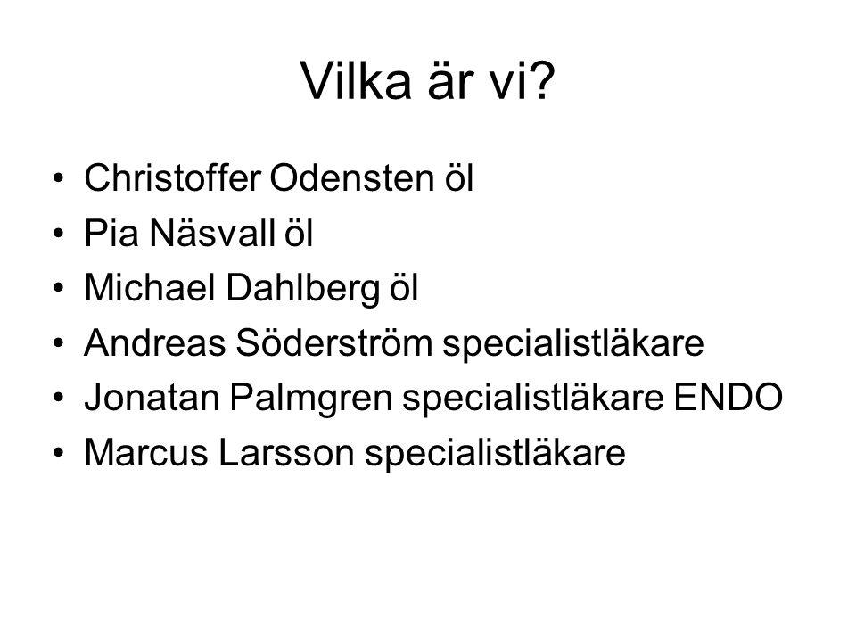 Vilka är vi Christoffer Odensten öl Pia Näsvall öl