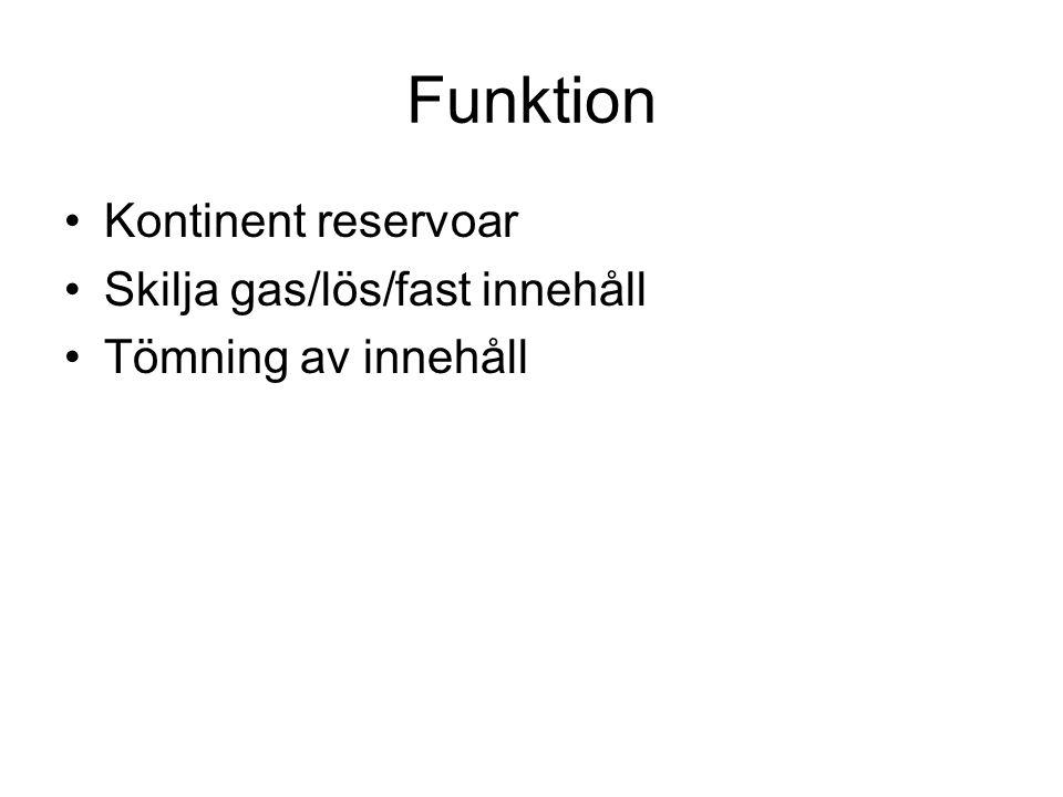 Funktion Kontinent reservoar Skilja gas/lös/fast innehåll