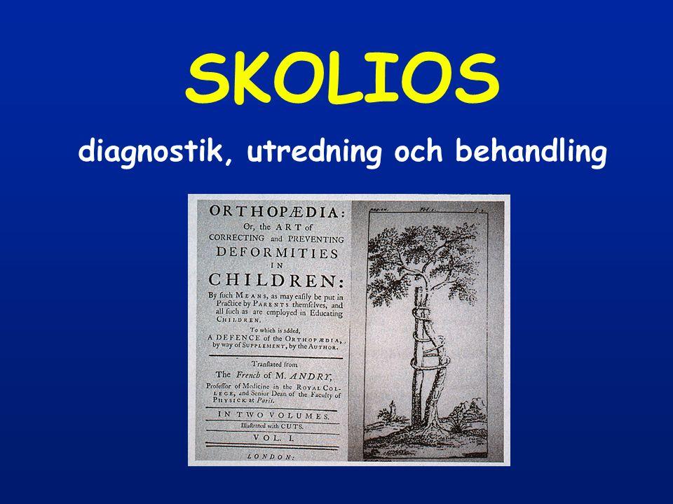 SKOLIOS diagnostik, utredning och behandling