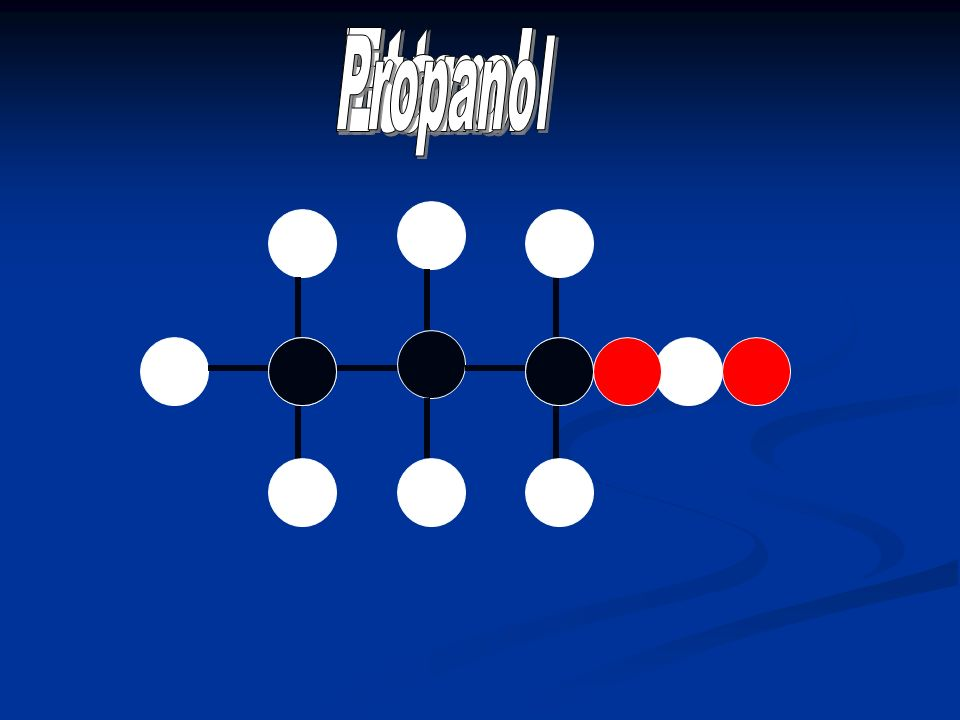 Metanol Etanol Propanol
