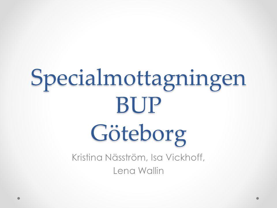 Specialmottagningen BUP Göteborg