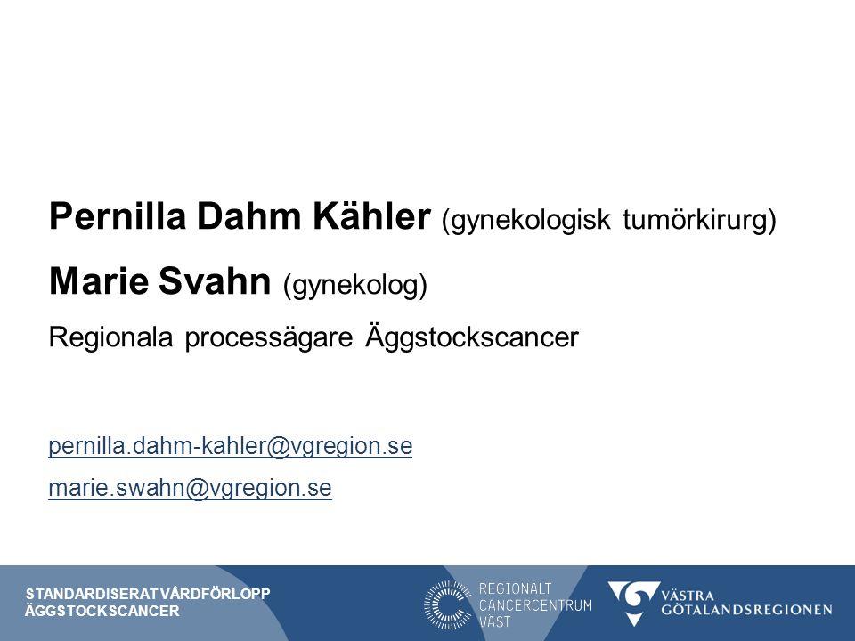 Pernilla Dahm Kähler (gynekologisk tumörkirurg)