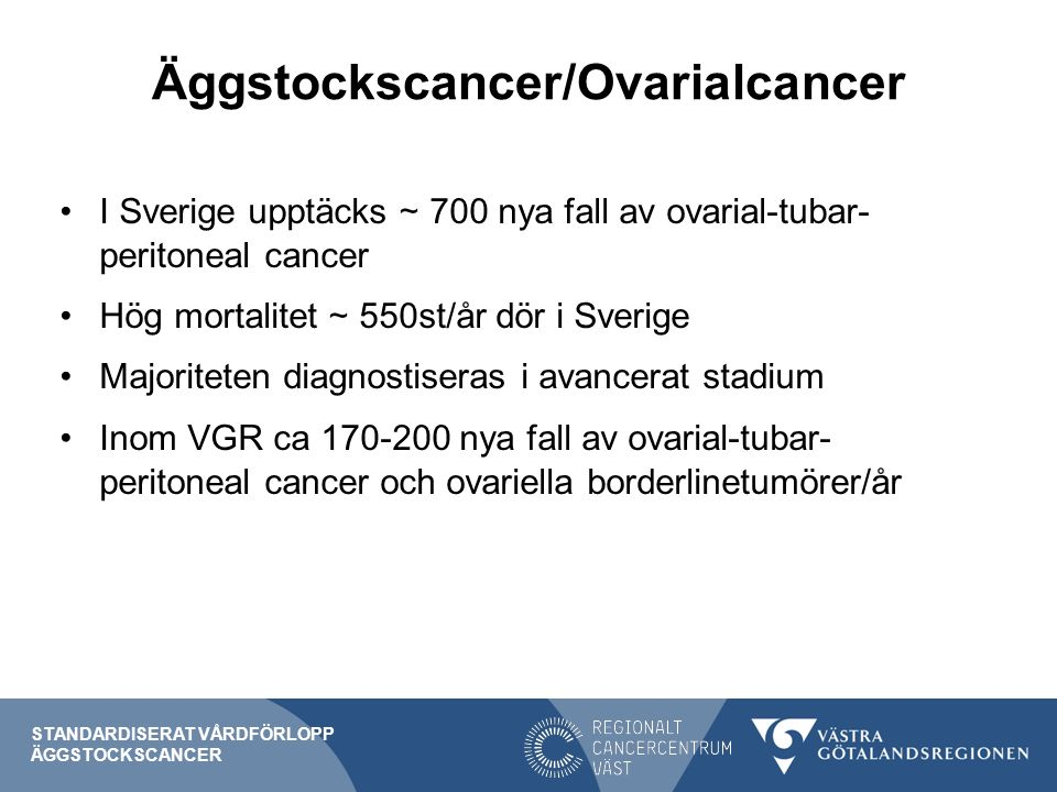 Äggstockscancer/Ovarialcancer