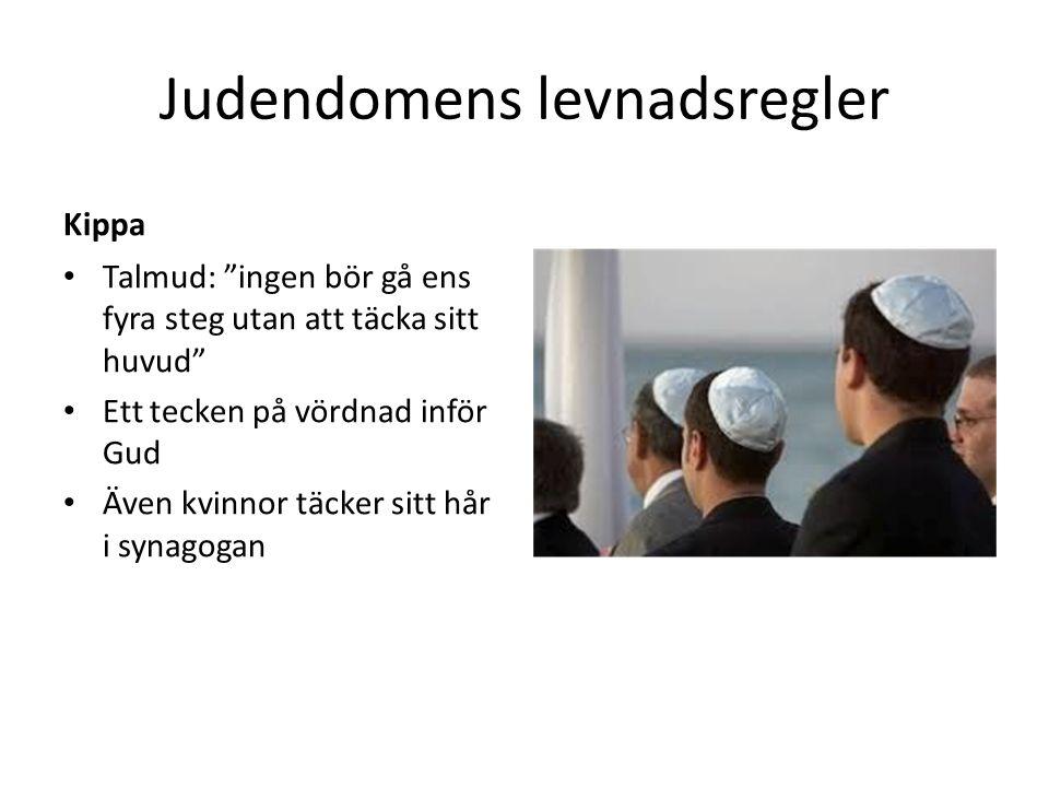 Judendomens levnadsregler