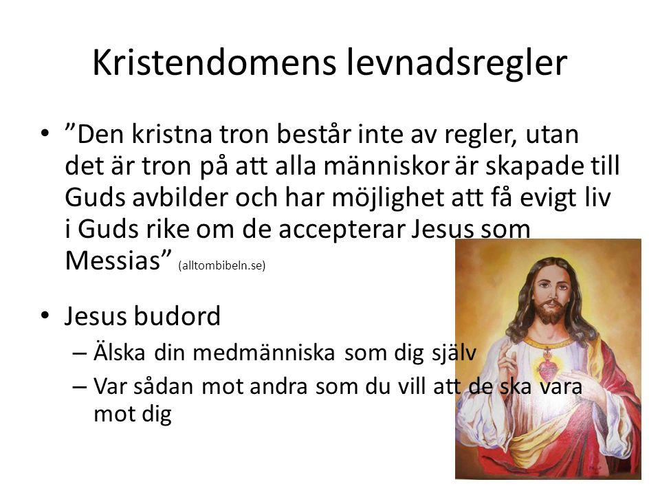 Kristendomens levnadsregler