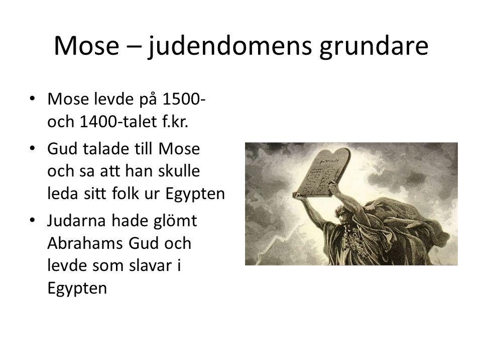 Mose – judendomens grundare