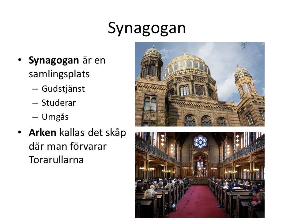 Synagogan Synagogan är en samlingsplats