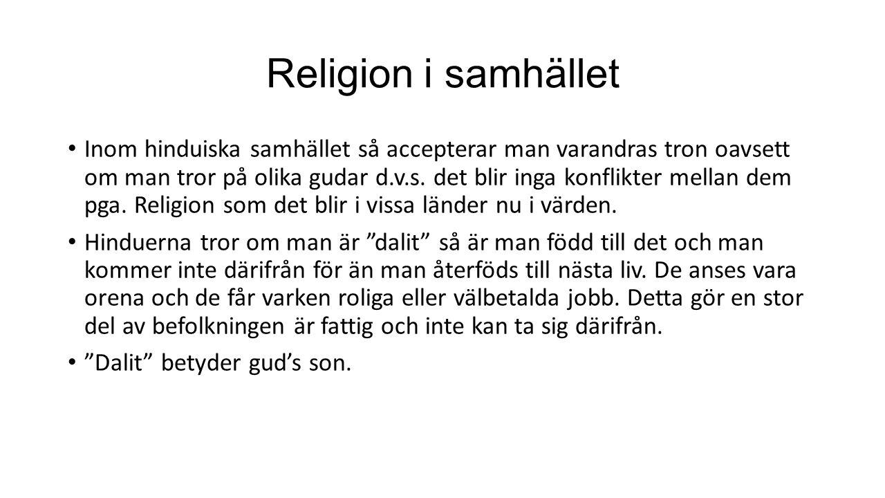 Religion i samhället