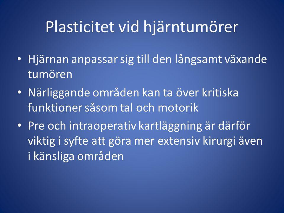 Plasticitet vid hjärntumörer
