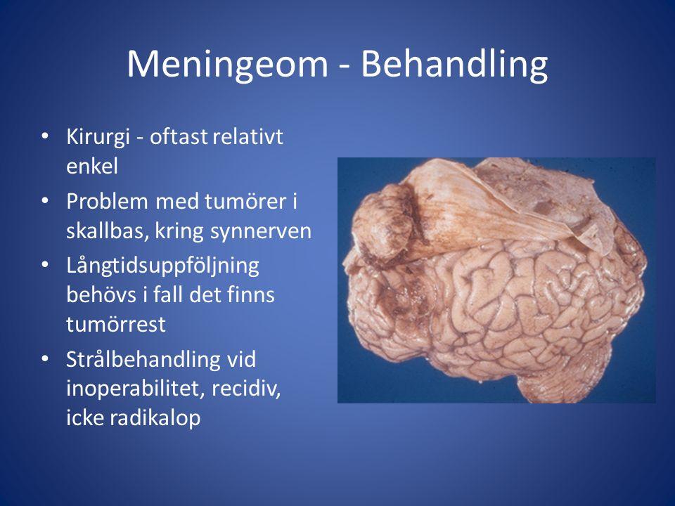 Meningeom - Behandling