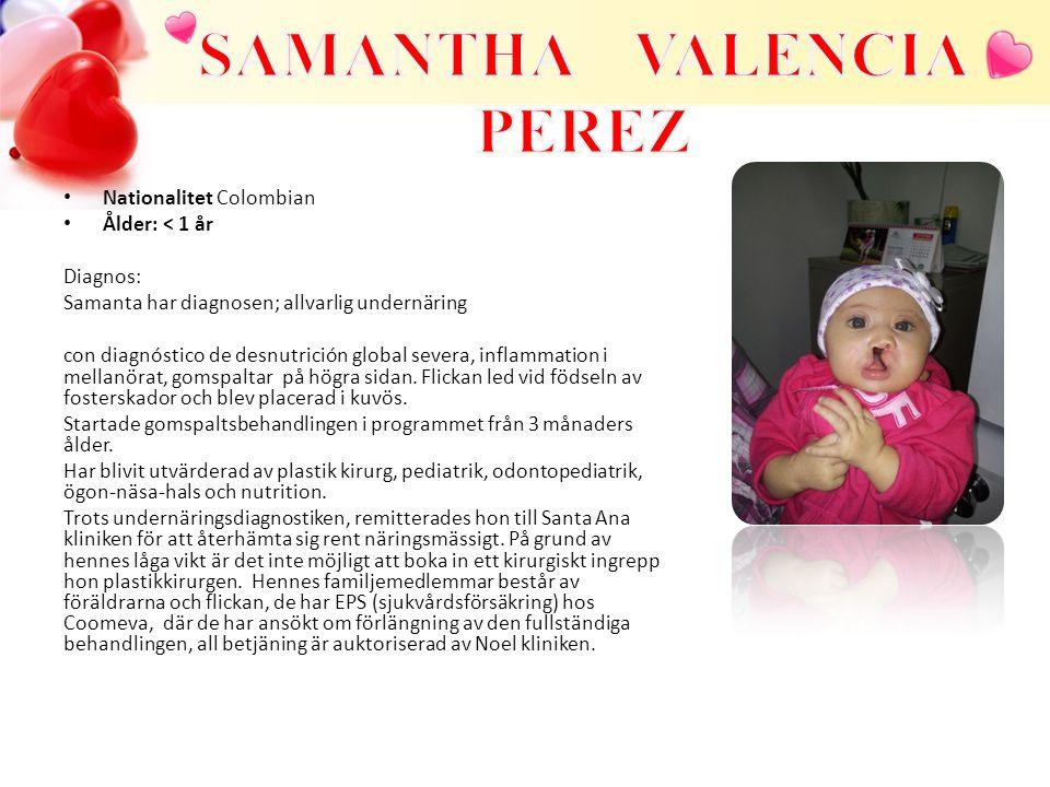 SAMANTHA VALENCIA PEREZ