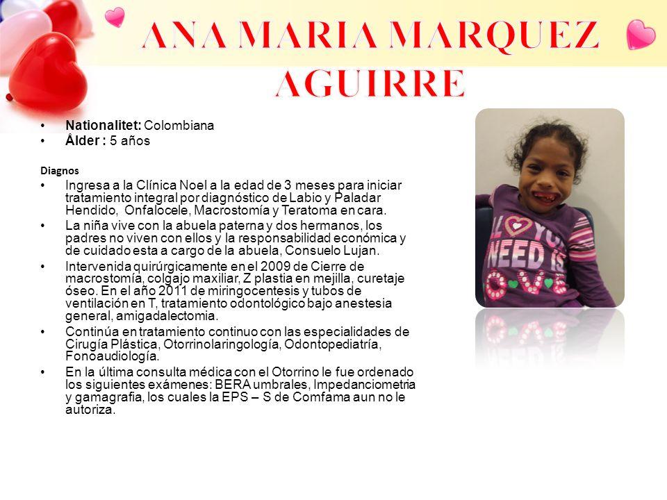 ANA MARIA MARQUEZ AGUIRRE