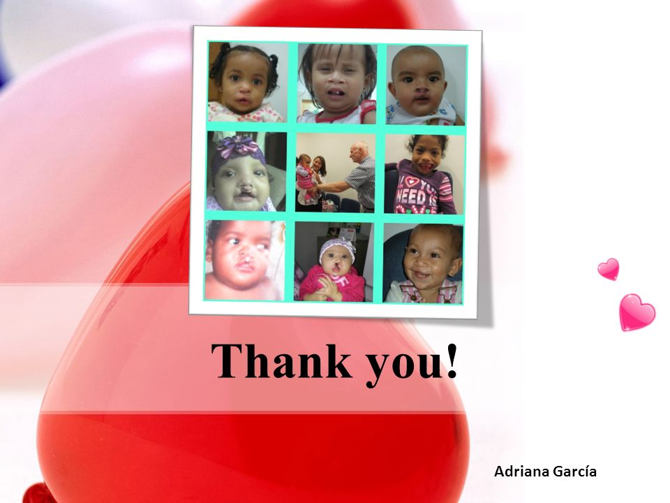 Thank you! Adriana García