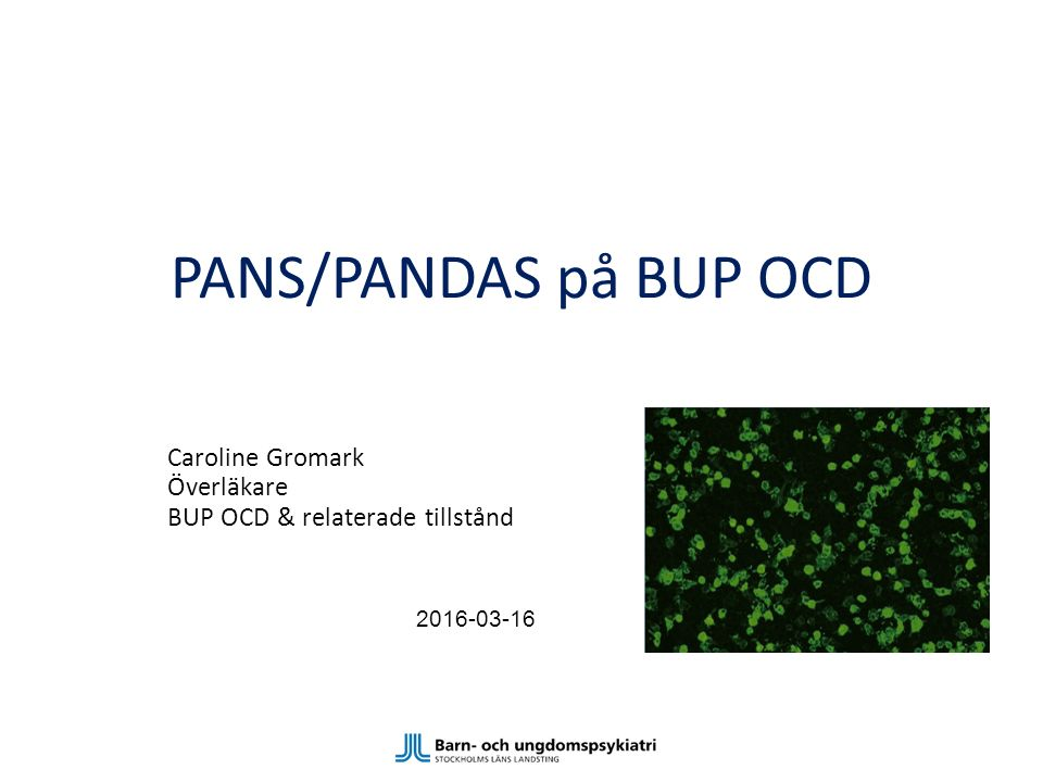 Caroline Gromark Överläkare BUP OCD & relaterade tillstånd 2016-03-16