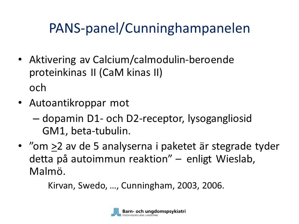 PANS-panel/Cunninghampanelen