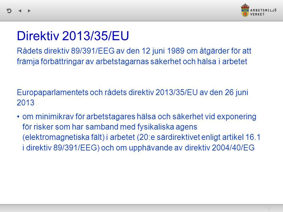 Direktiv 2013/35/EU
