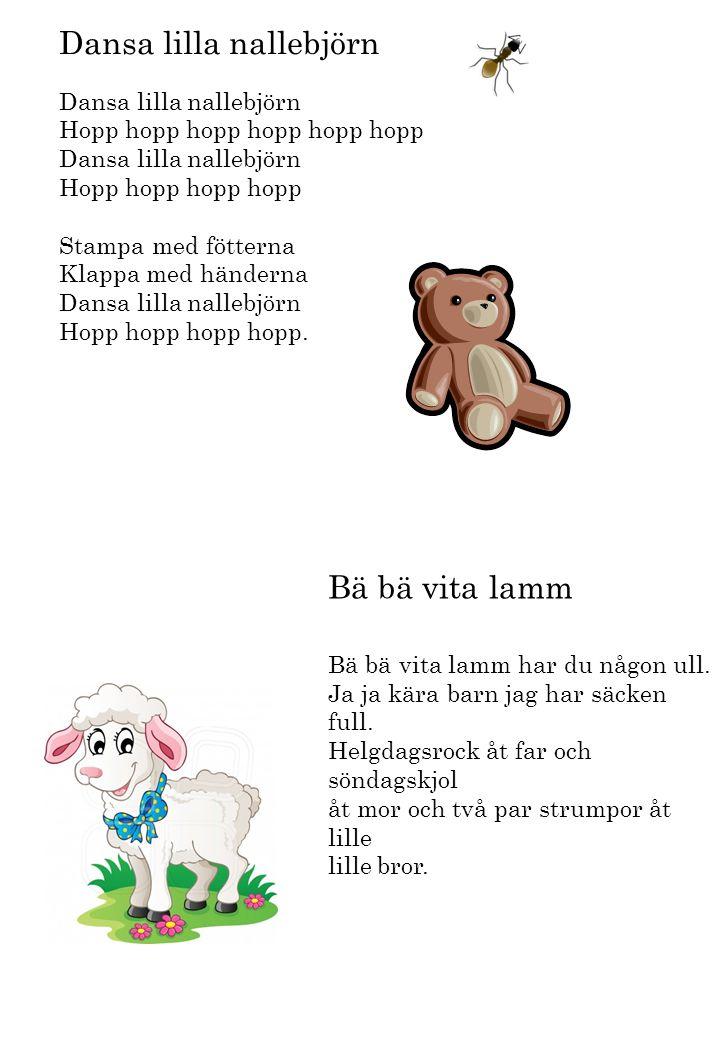 Dansa lilla nallebjörn