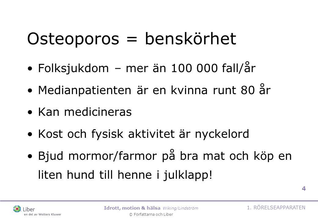 Osteoporos = benskörhet