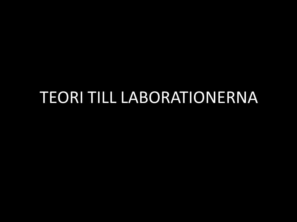 TEORI TILL LABORATIONERNA