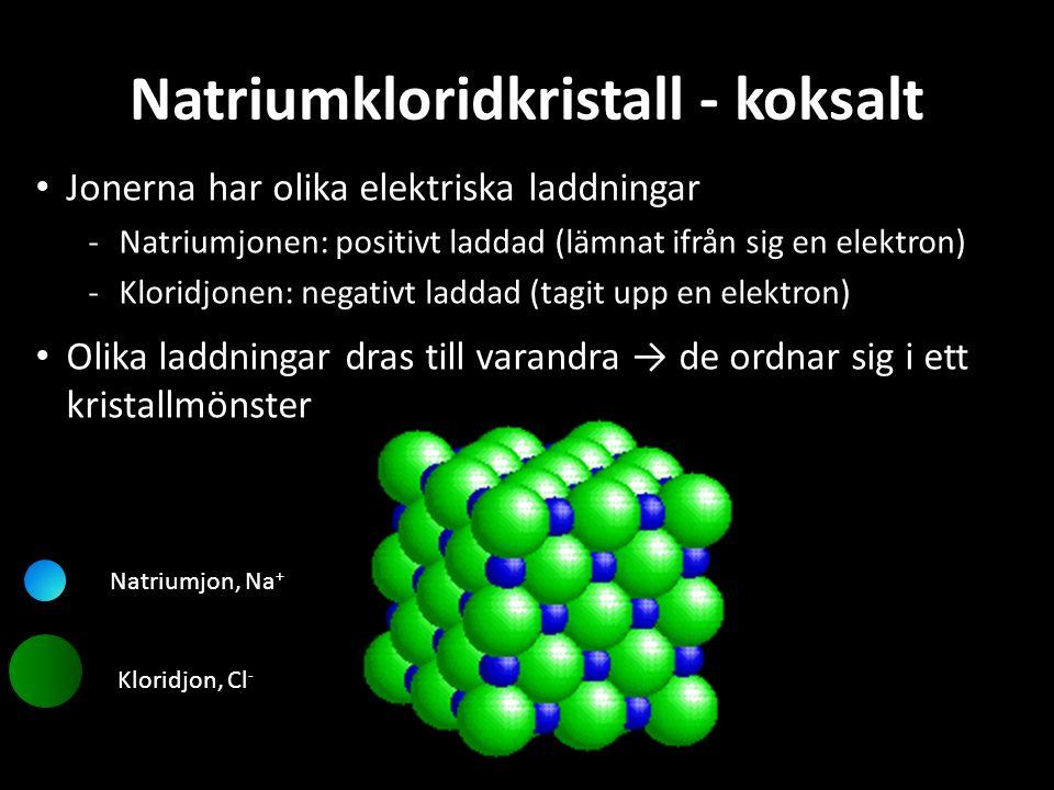 Natriumkloridkristall - koksalt