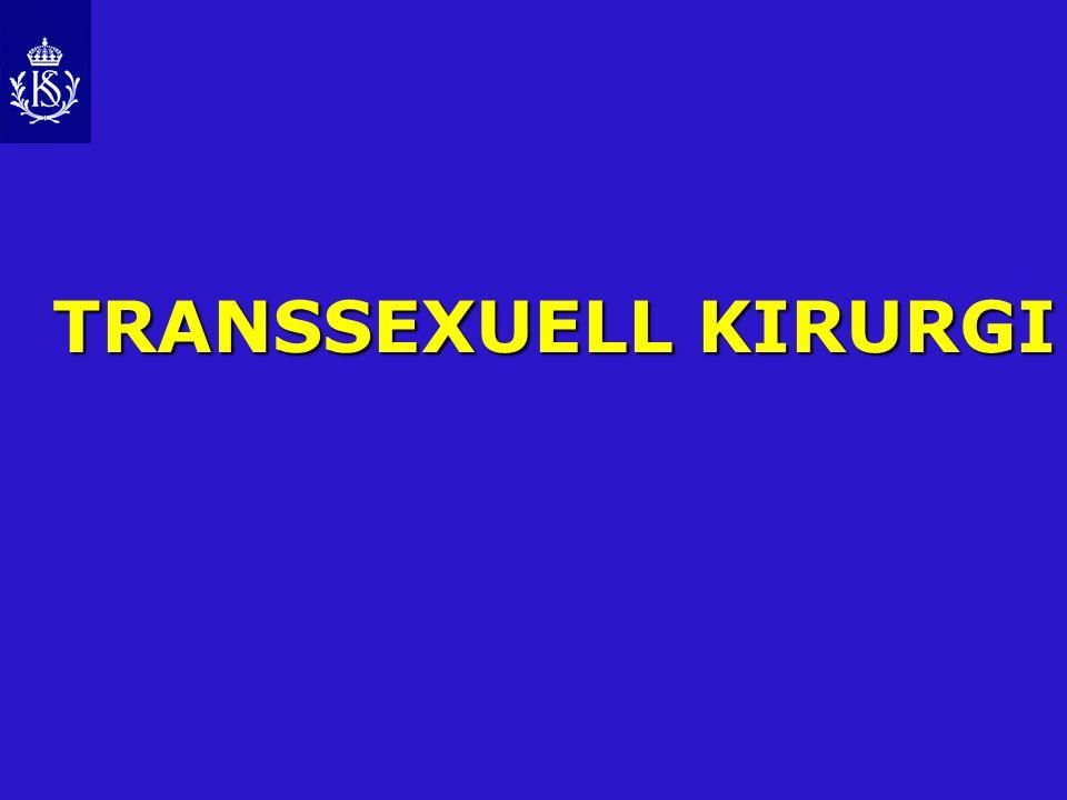 TRANSSEXUELL KIRURGI