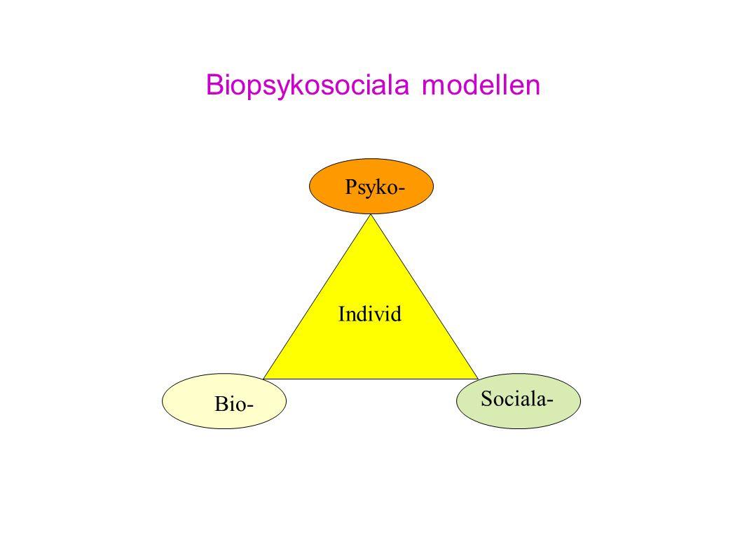 Biopsykosociala modellen