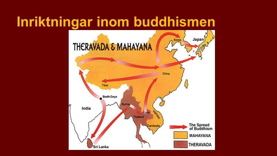 Inriktningar inom buddhismen