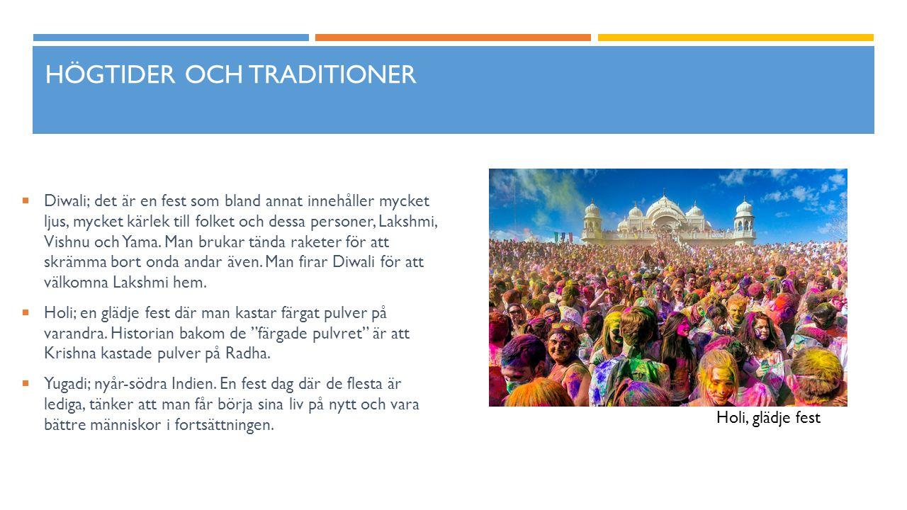 Högtider och traditioner