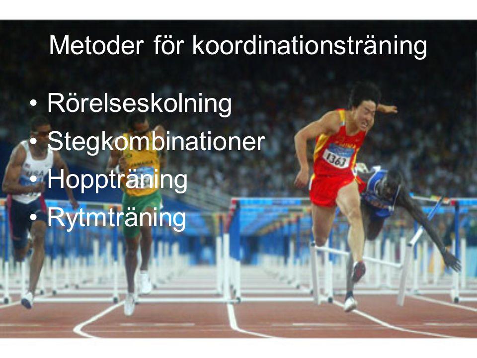 Metoder för koordinationsträning