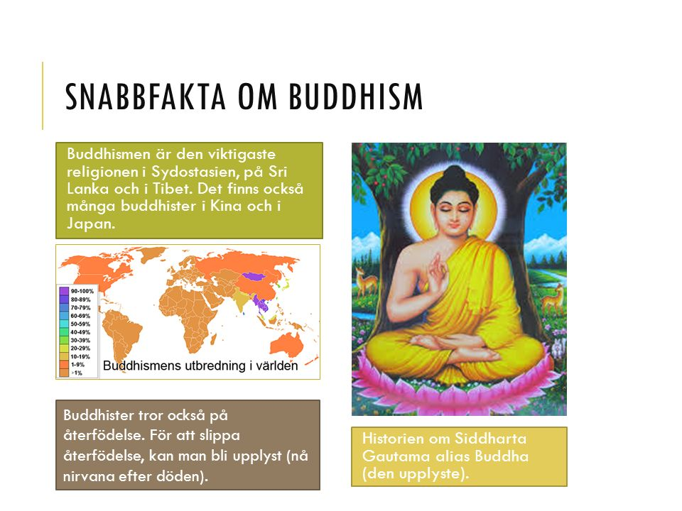 Snabbfakta om buddhism