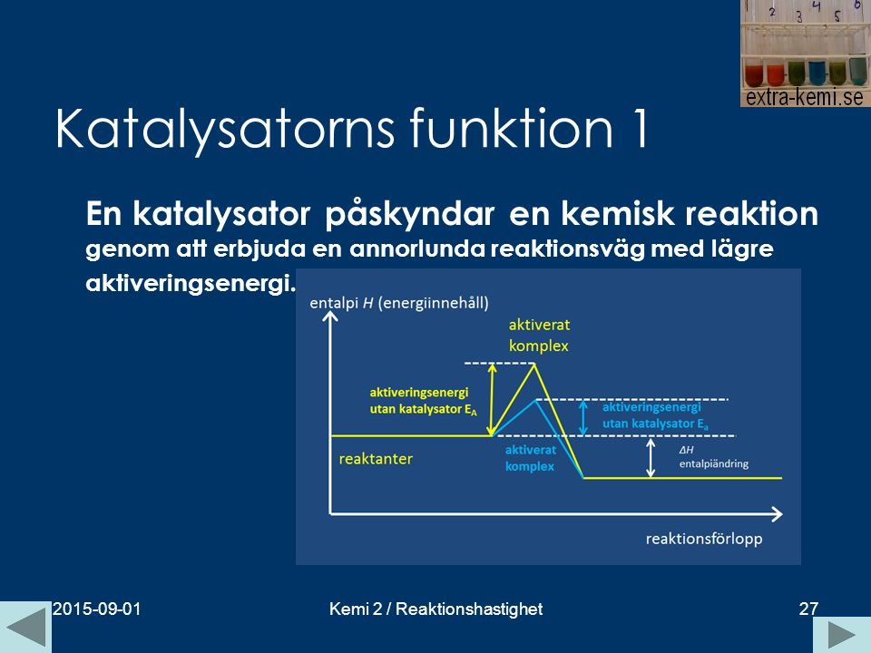 Katalysatorns funktion 1