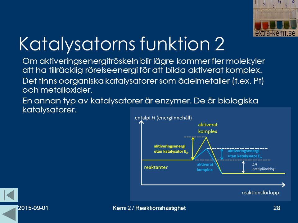 Katalysatorns funktion 2