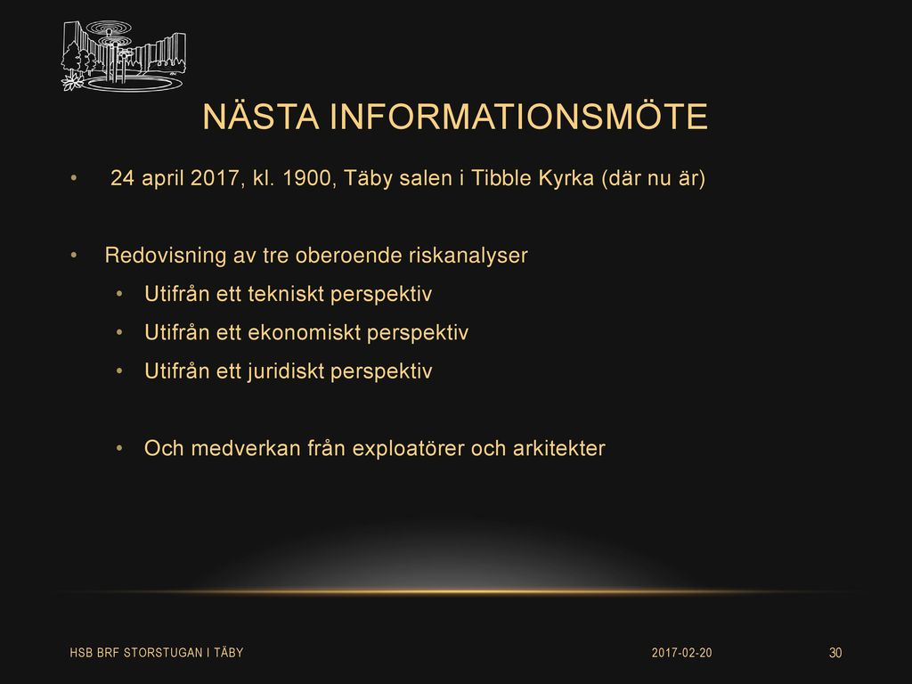 nästa informationsmöte